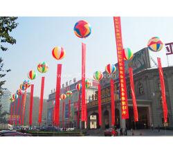 2020 Impresión a todo color nuevo inflables mayorista colgando Gota de agua globo con logotipo personalizado
