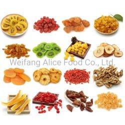 معيار التصدير سعر الجملة الصينية الرخيصة كل أنواع المجففة فاكهة مجففة مختلطة