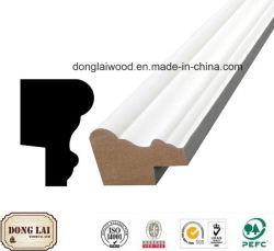 Los materiales de construcción de la fábrica China de alta calidad de suministro competitivo precio impermeable MDF Moldura plana de OEM de jambas de puerta a la venta
