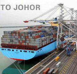 Preiswerter Verschiffen-Fracht-Export zu Johor von Guangzhou durch Shipment