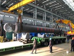 Gewicht 200 t grootste dubbelwerkende hydraulische cilinder voor 130 m gal Frame driving Barge