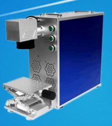 소형 Portable CO2/UV/Fiber Laser 표하기 조각 기계 또는 Laser 마커 또는 금속과 플라스틱을%s 인쇄하는 Laser 기계장치 /Logo