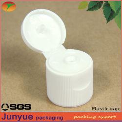 プラスチック装飾的なびんのための20mm肋骨で補強されたフリップ上の帽子