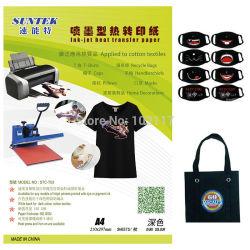 На темных цветов футболки Термоперенос бумаги для принтера Ink-Jet