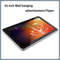 65 Zoll Wand Hängend Werbung Spieler Werbung Anzeige Maschine