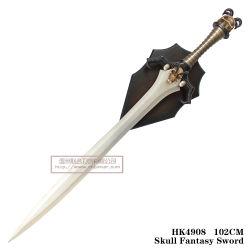Bobina de Cranio Fantasy Espada espadas de filmes com a placa bacteriana 102 cm HK4908