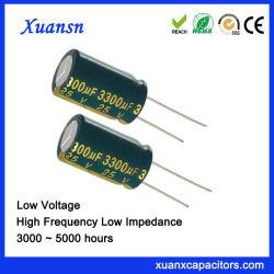 Capacitor eletrolítico 3300UF 25V para LED de alimentação