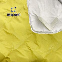 Lm2003 sin costura tejido Down 4 en 1 capas de liberación de la servidumbre de Cine de la transferencia de Tejido de poliéster de TPU para abajo chaqueta impermeable Windproof