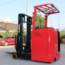 1.5ton 1500kg Cqd15 48V EPS Stand-on Fed 전기 배터리 작동식 리치 스태커 트럭 CE ISO 1.5ton 1.5t 배터리 지게차