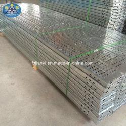 Het gegalvaniseerde Pedaal van de Steiger/de Lopende Raad van de Gang van het Aluminium van het Platform
