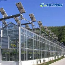 El uso agrícola de acero galvanizado en caliente con el sistema de refrigeración de efecto invernadero los jardines de vidrio