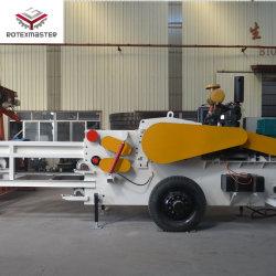 La Chine découpeuse à bois Diesel découpeuse à bois Machine de découpe des jetons dans les concasseurs de sciure de bois