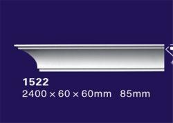 2400 мм белого цвета из полиуретана литьевого формования угловой стойки с водонепроницаемым / огнеупорные функция