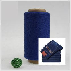 L'extrémité ouverte la filature ne16 Ne20 Fils de coton recyclé régénérées fils superposées pour tissu Denim Jeans