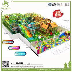 2019 Nuevos productos coloridos niños contentos comercial Deportes Parque de Atracciones Indoor playground para niños