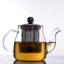 dB6002 Eco poco costoso - POT termoresistenti amichevoli del tè di vetro di Borosilicate