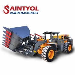Carregador de minas 2 Ton 4 Andamento Ultra Baixa e de Corpo Estreito carregadora de rodas para mineração