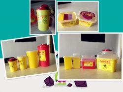 Bacs de tranchants jetables jetables de boîtes de Sharp/hôpitaux Consommables Consommables médicaux