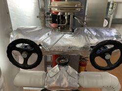 Druckreduzierender Ventil-Fiberglas-Wärmeisolierung-Deckel