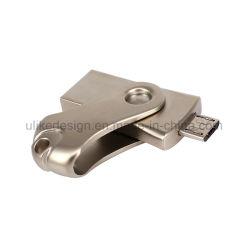 Minigröße USB-grelle Platte mit Metallgehäuse USB-Platte
