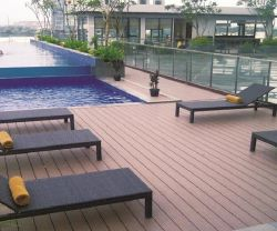 건축재료 WPC 물 증거 옥외 Decking 공원 벤치 (HK-XM18B1)