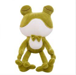소프트 다운 코튼 프로그 봉제 장난감 시뮬레이션 동물 개구리 프린스 인형