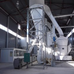 O gesso de Paris a linha de produção de pó de gesso para a máquina