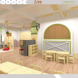 Les enfants de l'École de mobilier moderne en bois Set