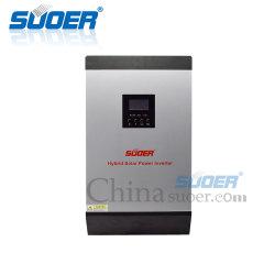 Suoer 48V DC para AC 230V 4KW inversores de frequência elevada 5kVA 60um Inversor de Energia Solar Híbrido MPPT
