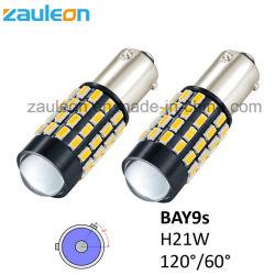 LED de color amarillo ámbar de la Bahía de H21W9s las lámparas de repetidor Repetidor de bayoneta