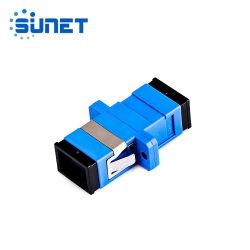 SC/UPC SM Simplex 50PCS لون أزرق مع ألياف بلاستيكية شفاه محول ضوئي