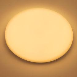 Rond vierkant klein nieuwe verlichtingsproducten LED-paneel rond geveerd 24W 8-inch LED-paneel