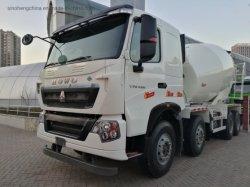 8m3 10m3 12m3 336HP 371HP HOWO A7 6X4 콘크리트 시멘트 믹서 트럭