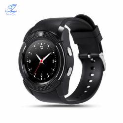 Bluetooth V8 Smart Watch Smartwatch mujeres/hombres reloj teléfono SIM llamada TF compatibilidad con reloj de la cámara Bt 4.0 para Ios Android Ronda ver