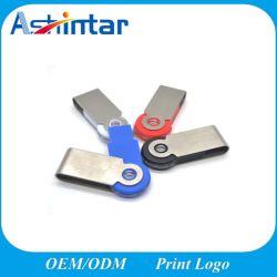 Mini-UDP2.0 USB-Blitz-Laufwerk-Metallschwenker-Speicher-Stock USBpreiswerter 8GB 16GB 32GB Pendrive USB