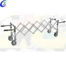 عربة تروللي العربة المصنوعة من الفولاذ المقاوم للصدأ