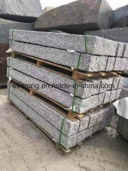 G603 /G654 grauer Granit-Zaun-Stein-Block, der Palisade für Garten pflastert