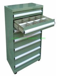 Ce approuvé toutes les boîte à outils en acier Outil Outil de trolley Cabinet Armoire de stockage pour l'atelier d'entrepôt de laboratoire de l'École de garage