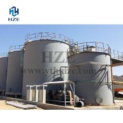 Pequena Escala de lixiviação de cianeto de tanque de agitação de ouro fábrica CIL