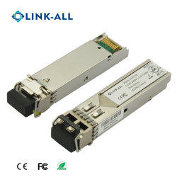 Mode Single 1.25g Dual Fibre 20km transceiver SFP à fibre optique