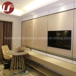 フォーシャンの最高のホテルの寝室の家具のMarriott様式の薄い色の贅沢