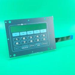 Non-Tactile плоские кнопки мембранной клавиатуры мембранного переключателя с толстыми PMMA свидетельствуют панели