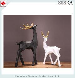 Harz-Weihnachtsren-Statue-Innenministerium-Dekoration