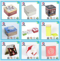 De zoete Vierkante Blikken van het Tin voor het Blik van het Tin Food/Gift/Candy