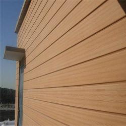 غطاء حائط لوحة حائط مركب من البلاستيك الخشبية WPC للخشب بووي الخارجي