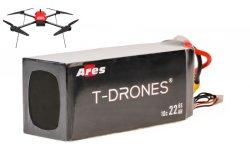 Drones T Tempo de voo quente 30% aumentaram a Ares 6s 30, 000Drone mAh recarregável