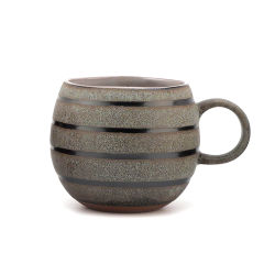 La lumière de la beauté de luxe Sublimation ronde en céramique émaillée tasse tasse de café tasse de lait Cupstea Gift Set Home Decor