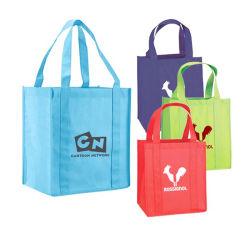 ترويجيّ عادة طبع علامة تجاريّة [إك-فريندلي] قابل للاستعمال تكرارا يعيد غير يحاك مقبض حقيبة لأنّ مغازة كبرى, مركز تجاريّ, متجر, ملابس مخزن