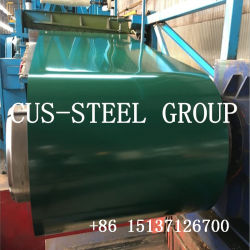 Dx51d 미리 도색된 Galvanized Steel Iron Sheet/PPGI Color Coated Steel Coil