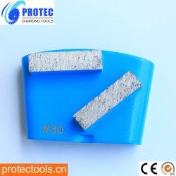 Металлические Бонд алмазные шлифовальные блока&приспособление для HTC шлифовки Пол Машины шлифовальные для конкретных/эпоксидный клей/Terrazo
